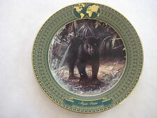 "Bradford Exchange Collectible Plate, ""Mystic Realm"" By Charles Frace W/ Coa, 9"""