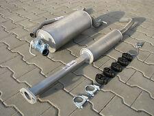 Auspuff Mazda 3 1.4i 1.6i 16V 06/2003-03/2005 Auspuffanlage *F028