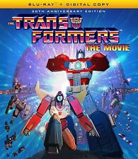THE TRANSFORMERS: THE MOVIE (30th anniverary) BLU RAY - Region A - Sealed