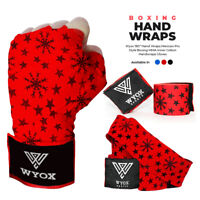 Wyox Hand Wraps Mexican Bandages Boxing Fist Inner Gloves Muay Thai MMA Red