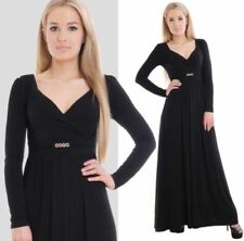 V-Neck Party Dresses for Women with Empire Waist