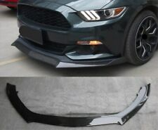 Carbon fiber Car Front Bumper Lower Guard Cover Trim For Ford Mustang 2015-2019