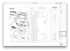 AVIA A21 A31 or Renault Saviem SG2 TP3 4x4 2WD 4WD MANUAL Handbook Parts list