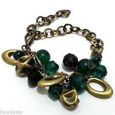 Bracciale di Perle Gioiello con Ciondoli Vintage Boho