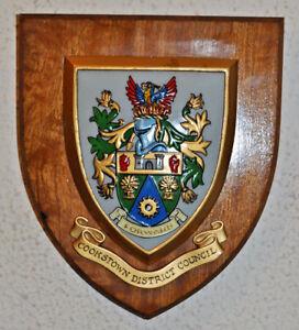 Cookstown District Council plaque shield crest coat of arms