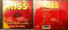 """KISS """"Featuring Ace Frehley LIVE IN USA"""" Cd Rare"""