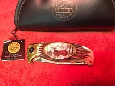 Collectible Franklin Mint Buck Knife NEW