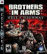 Brothers in Arms: Hell's Highway GAME (Sony Playstation 3) PS PS3 *FREE SHIPPING