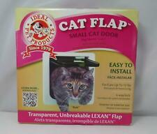 "New listing Ideal Pet Products Cat Flap - Small Cat Door - 6 1/4"" x 6 1/4"" Lexan Flap - New"