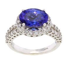 Handmade Oval Fine Diamond Rings
