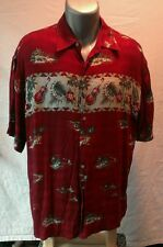 MODA CAMPIA Hawaiian shirt SIZE LARGE