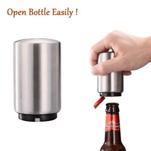 Automatic Beer Soda Bottle Opener Stainless Steel Magnetic Bottle Cap Opener