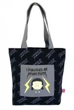 "ANGRY LITTLE GIRLS ""I SURVIVED AN ASIAN MOM"" TOTE GROCERY CARRY BAG"