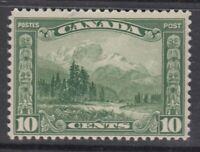 """Canada MINT NH Scott #155 10 cent Mount Hurd """"Scroll""""  F *"""