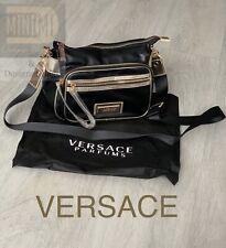 🆕VERSACE WOMENS SHOULDER BAG Black CROSSBODY BAG WITH DUST BAG New Sealed