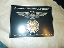 "Harley Davidson 2013 ""H-D 110th Anniversary Coin w/Card"""
