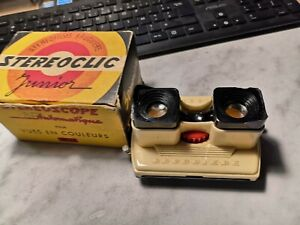 Stereoscope Bruguiére STEREOCLIC JUNIOR + boite