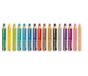 STABILO Woody 3 in 1 Multi Talent Pencil Crayon - select one -