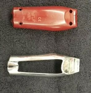 Wahl Detailer corded housing Red And Silver with the metal screw holder