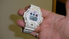 casio g shock DW-6900 bathing ape new battery white alarm chronograph light nice