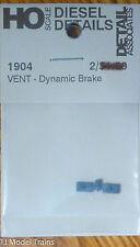 Detail Associates HO #1904 Air Vent -Dyn Brake