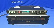 Evertz 7700 Multiframe w/ 9000 NCP Control Panel, 5-7700 ADA Mods, PS