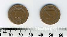 Bosnia-Herzegovina 2011 - 10 Feninga Copper Plated Steel Coin