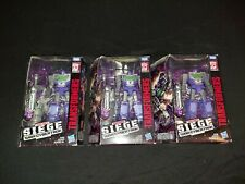 Transformers War For Cybertron Siege Refraktor Set of 3 lot pack in box