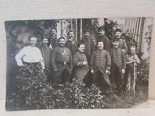 cpa photo militaire 107e regiment soldats