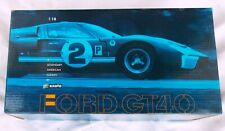 Exoto Blue Ford GT40 Die Cast 1:18 Scale