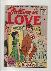 Falling In Love 3 CG 4.0 DC HTF Golden Age Romance 1956