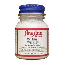 Angelus Shoe Polish Co. 2-Thin Used To Thin Acrylic Leather Paint