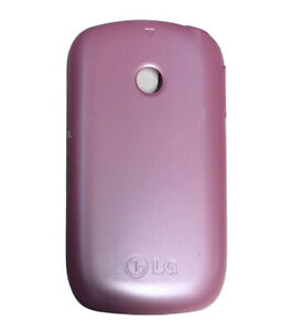 GENUINE LG Wink Style T310 BATTERY COVER Door PINK cell phone back panel