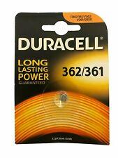 Duracell 362/361 Batteria PILA Bottone