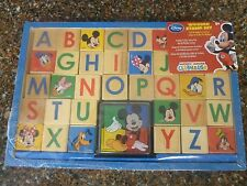 Mickey Mouse Clubhouse Wooden Stamp Set Disney Store Sealed Brand New