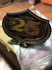 TOYOTA Corona Corolla Celica 25th ANNIVERSARY Front Grille Emblem Genuine Nos.