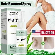 100% Natural Permanent Fast Hair Removal Spray Stop Hair Growth Inhibitor USA