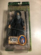 "LORD OF THE RINGS GANDALF GREY ACTION FIGURE TOYBIZ LOTR 6"" FANTASY WIZARD"