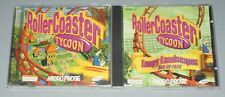 Rollercoaster Tycoon & Loopy Landscapes expansion bundle - Jewel Case PC Game