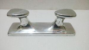 MARITIME ALUMINIUM BOAT DOCK CLEAT / BOLLARD CLEAT WEIGHT-1kg SIZE 22.50x6.50cm