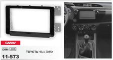 CARAV 11-573 2Din Marco Adaptador Kit Instalacion de Radio TOYOTA Hilux 2015+