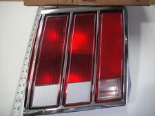 1981 82 Mercury Cougar XR7 Taillight Lamp Light Lens Rear Brake Stop  NOS