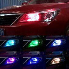 Remote Control CAR Side Light Bulb CAR T10 5050 LED 6 SMD Colorful RGB W5W 501