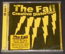 THE FALL creative distortion UK 2-CD+DVD 2014 new sealed LIVE 2002 mark e smith