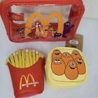 Boxlunch McDonald's Makeup Bags Cosmetic Set Mcnuggets French Fries Happy Meal
