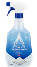 Astonish Daily Shower Shine Cleaner Spray For Tiles Screens & Curtains (750ml)
