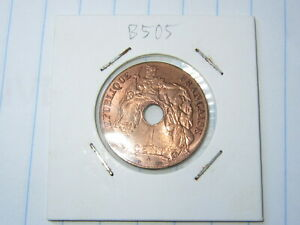 1 Cent French Indochina Coin 1939-A (See Photos) #B505