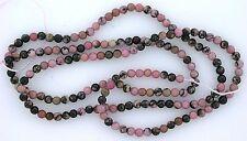 2mm Round Rhodonite Gem Stone Gemstone Beads 15 Inch Strand rb1