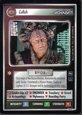 STAR TREK CCG VOYAGER RARE CARD CULLUH