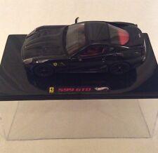 Hot Wheels Elite - 1.43 Ferrari 599 GTO In Black.